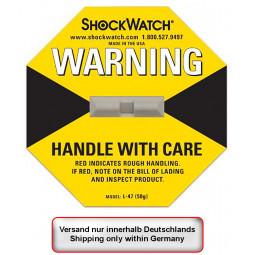 Stoßindikator ShockWatch,...