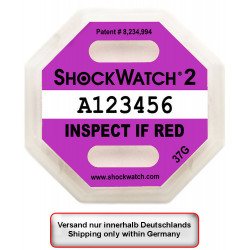 Impact indicator ShockWatch...