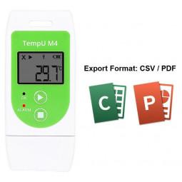 Mehrweg-Temperaturdatenlogger TempU M4