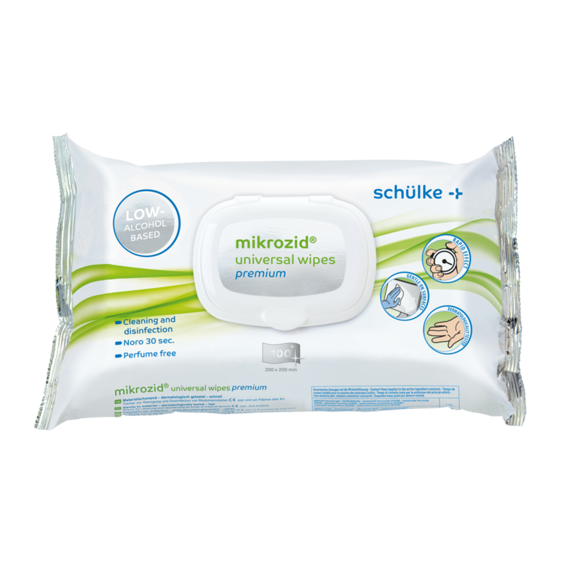 Desinfektionstücher mikrozid® universal wipes premium