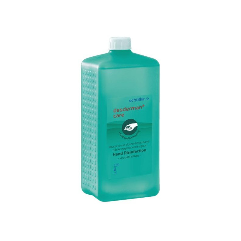 Händedesinfektionsmittel desderman® care 1 l Euroflasche, 10 Stück