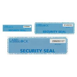Security seal Label Lock